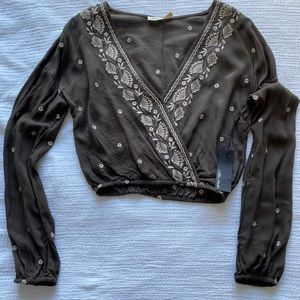 NWT* Cropped Blouse